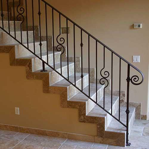 Barandas de vidrio templado zona oeste zona norte pilar moreno precios fabrica de barandas de - Barandas de forja para escaleras ...