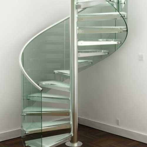 Escalera de caracol precio excellent escaleras compensadas para colocar en las esquinas de las - Precio escaleras interiores ...